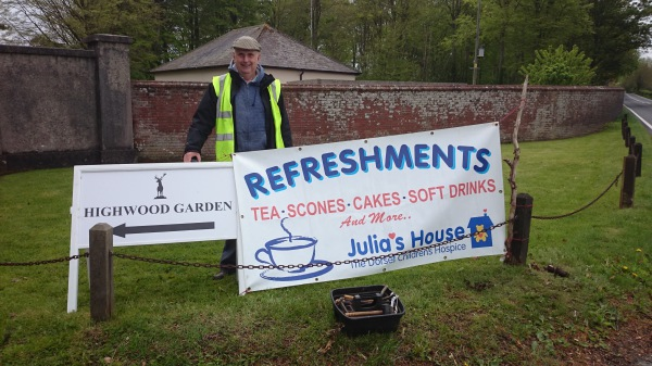 Lions support Julias House at Drax Estate 2015